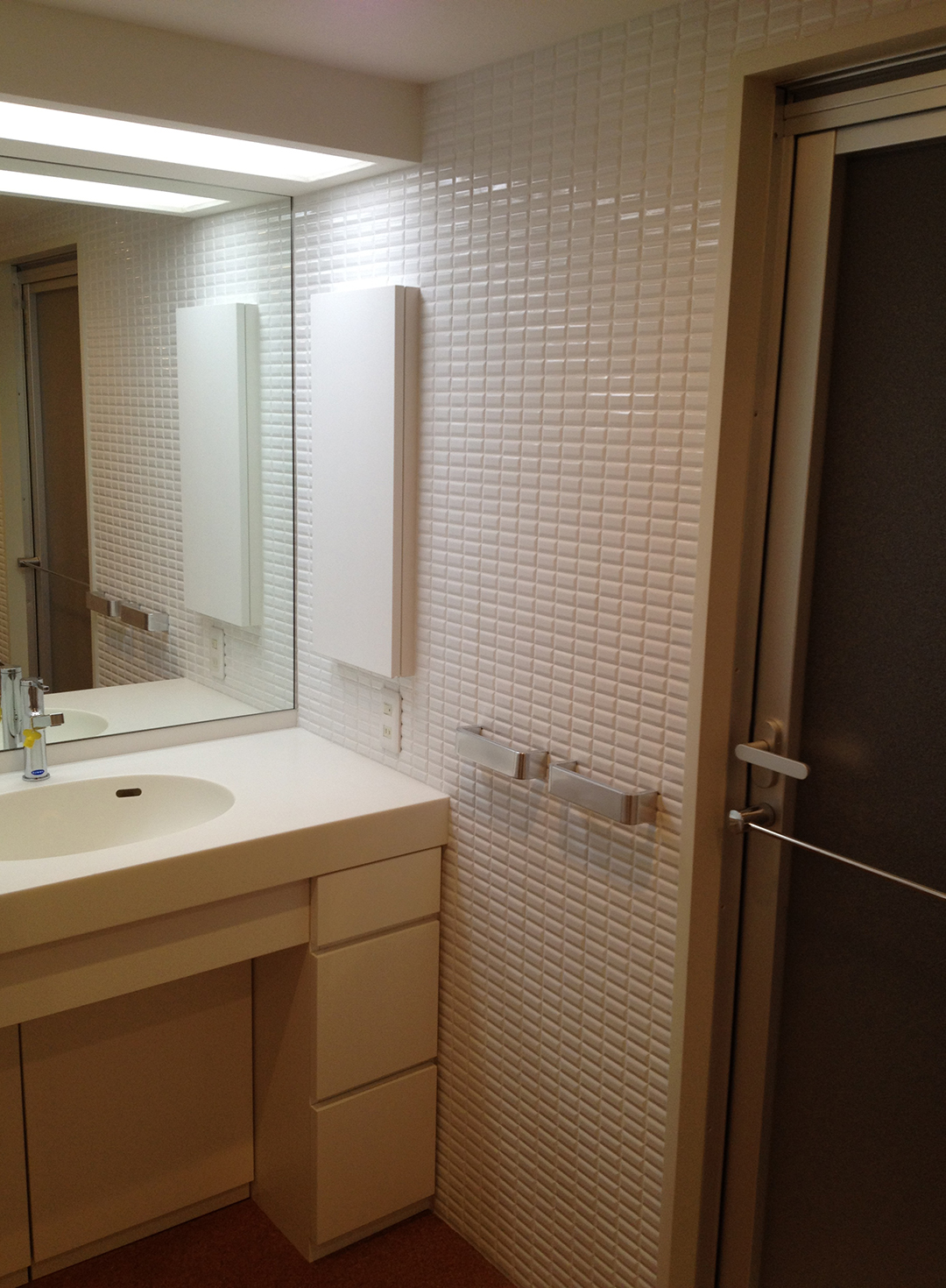 O邸 洗面化粧室改装