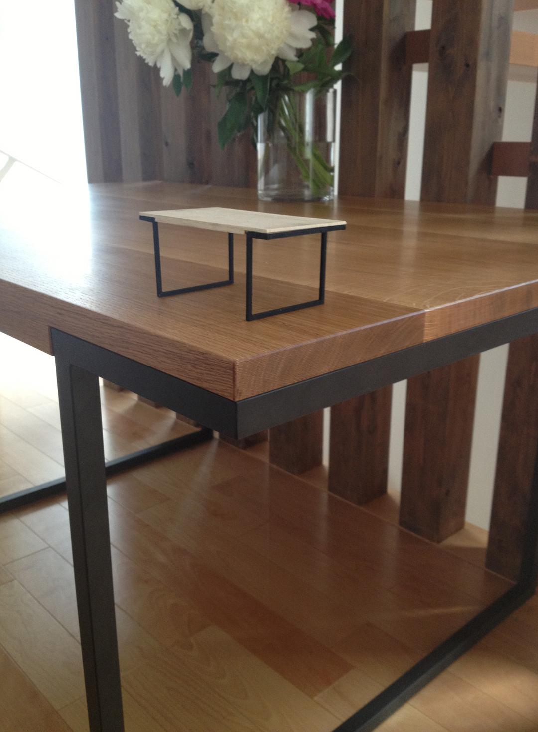 Y邸ダイニングテーブル